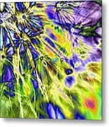 Abstract Wildflower 5 Metal Print