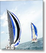 Abstract Wind And Seas Metal Print