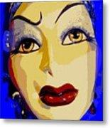 Abstract Woman #2 Metal Print