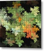 Abstract World Metal Print