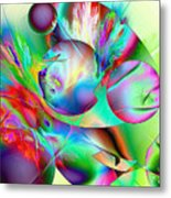 Abstract051710b Metal Print