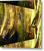Abstracted Lines Metal Print