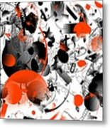 Abstraction 1109 Metal Print