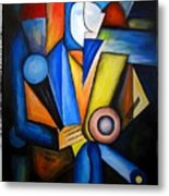 Abstraction 1721 Metal Print