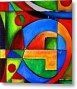 Abstraction 1724 Metal Print