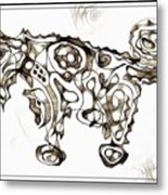 Abstraction 1951 Metal Print