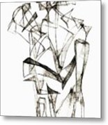 Abstraction 1953 Metal Print