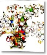 Abstraction 2175 Metal Print