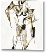 Abstraction 2176 Metal Print