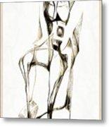 Abstraction 2182 Metal Print