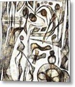 Abstraction 2217 Metal Print