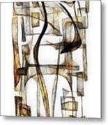 Abstraction 2430 Metal Print