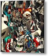 Abstraction 2501 Metal Print