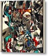 Abstraction 2502 Metal Print