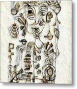 Abstraction 2570 Metal Print