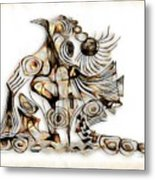 Abstraction 2737 Metal Print