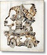 Abstraction 2810 Metal Print