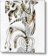 Abstraction 2829 Metal Print