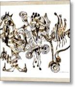 Abstraction 2869 Metal Print