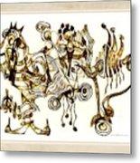 Abstraction 2872 Metal Print