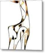 Abstraction 2916 Metal Print