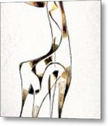 Abstraction 2920 Metal Print