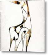 Abstraction 2922 Metal Print