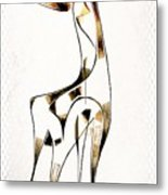Abstraction 2923 Metal Print