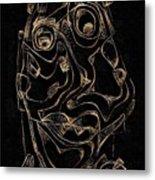 Abstraction 2978 Metal Print