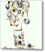 Abstraction 2988 Metal Print