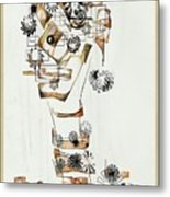 Abstraction 2990 Metal Print