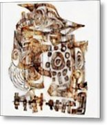 Abstraction 3053 Metal Print