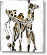 Abstraction 3091 Metal Print