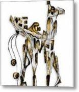 Abstraction 3092 Metal Print