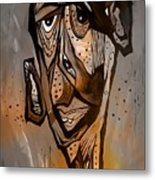 Abstraction 3297 Metal Print