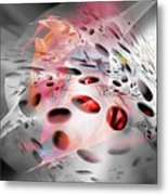 Abstraction 3304 Metal Print