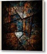 Abstraction 3421 Metal Print