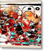 Abstraction 3426 Metal Print