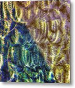 Abstraction From A Sculpture Metal Print