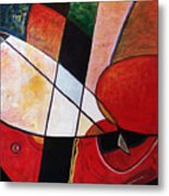 Abstraction II Metal Print