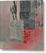 Abstractionnel Metal Print