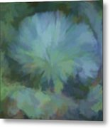 Abstractions From Nature - Live Oak Collar Metal Print