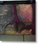 Abstracty Crows Feet Metal Print