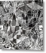 pERMEABLE aBSTRACTION  Metal Print