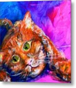 Abstrcat Metal Print