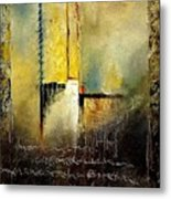 Abstrct 3 Metal Print