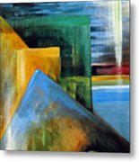 Abstrct And A Plover Egg Metal Print
