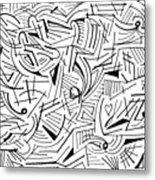 Abstruse Metal Print