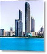 Abu Dhabi Corniche Metal Print