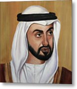 Abu Dhabi Crown Prince Metal Print